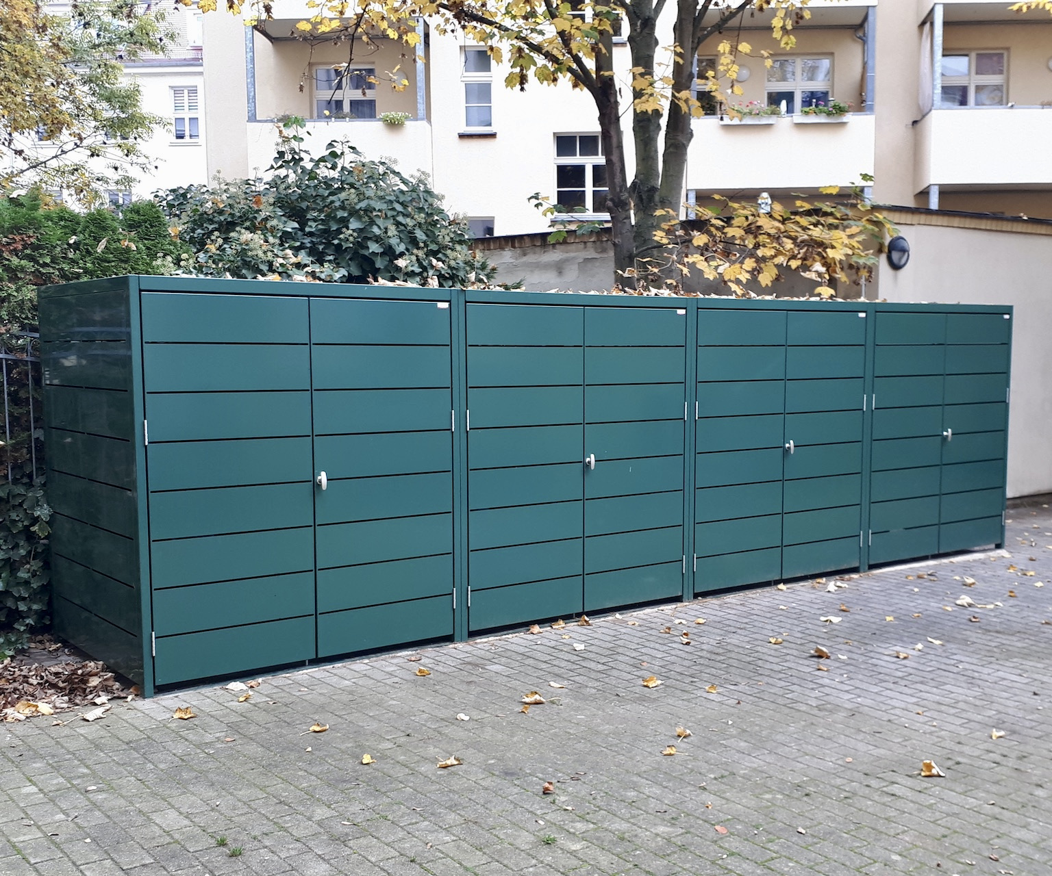 Müllcontainerboxen